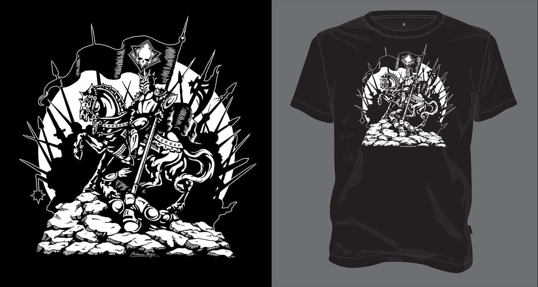 Conqueror - Cultic Heavy Metal T-Shirt