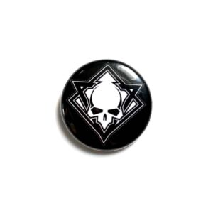 Cultic Button - Skull Pin