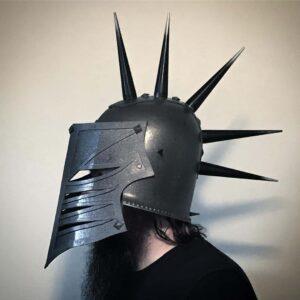 Spiked Cosplay Helmet