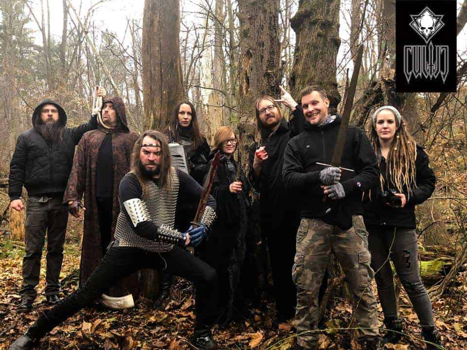 Forest of Knives Video Behind the Scenes Group Shot