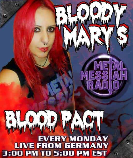 Bloody Mary's Blood Pact - Metal Messiah Radio