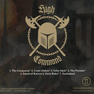 Cultic High Command CDr - Back Cover