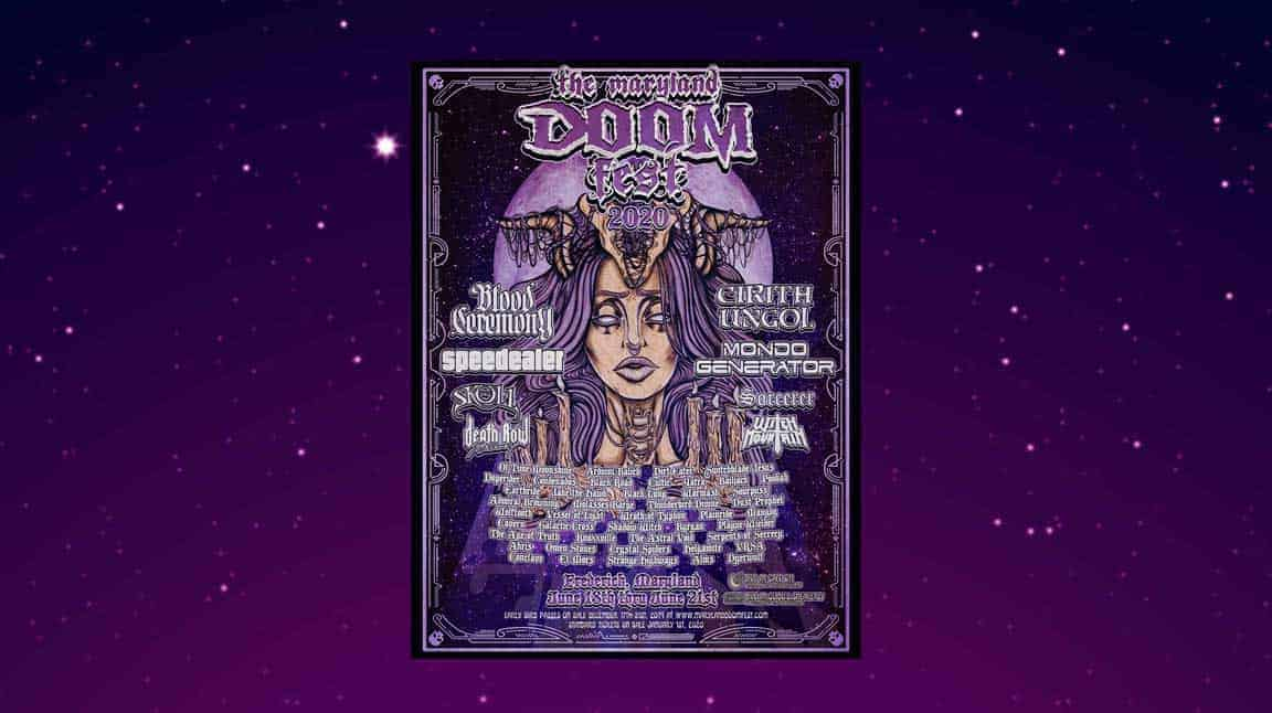 The Maryland Doom Fest 2020 Lineup - Cultic
