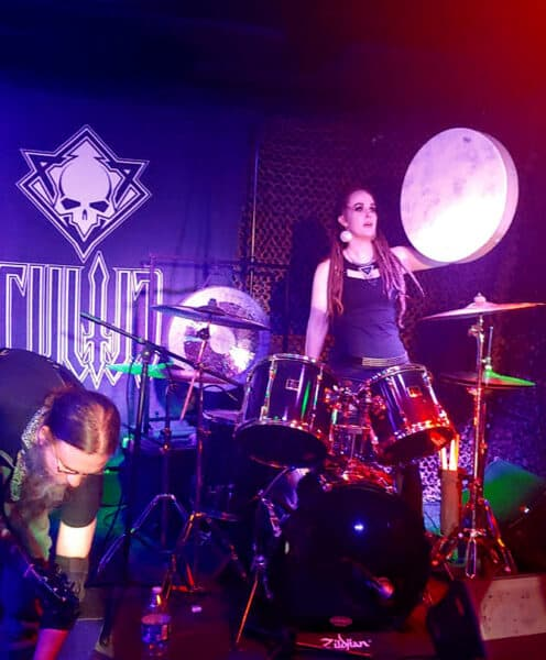 Rebecca Magar - Cultic Drummer with Hand Drum
